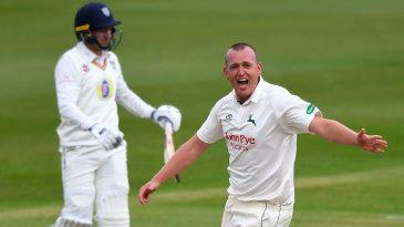 Luke Fletcher celebrates a breakthrough