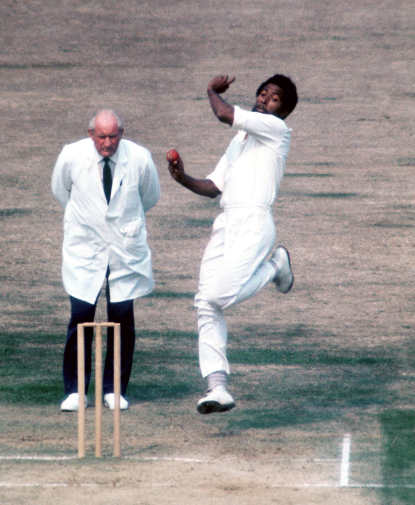Bringing the fury at The Oval in 1976