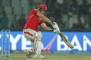 David Miller carves one out through the off side, Delhi Daredevils v Kings XI Punjab, IPL 2017, Delhi, April 15, 2017