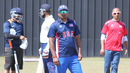 USA assistant coach Anand Tummala observes a training session, Pearland, April 7, 2017