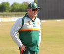 Tasmania coach Richard Allanby appears as a consultant at a USA squad camp in Texas, Pearland, April 9, 2017