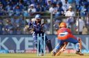 Parthiv Patel displayed some quick work behind the stumps, Mumbai Indians v Gujarat Lions, IPL 2017, Mumbai, April 16, 2017