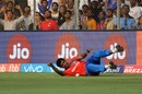 Munaf Patel found himself rolling in the deep, Mumbai Indians v Gujarat Lions, IPL 2017, Mumbai, April 16, 2017
