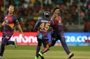 Shardul Thakur took out Mandeep Singh in his first over, Royal Challengers v Rising Pune, IPL 2017, Bengaluru, April 16, 2017