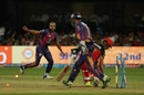 AB de Villiers was stumped off Imran Tahir, Royal Challengers v Rising Pune, IPL 2017, Bengaluru, April 16, 2017