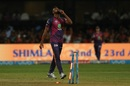 Jaydev Unadkat used changes in pace to take two wickets, Royal Challengers v Rising Pune, IPL 2017, Bengaluru, April 16, 2017