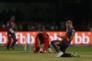 Ben Stokes flattened Shane Watson's middle stump, Royal Challengers v Rising Pune, IPL 2017, Bengaluru, April 16, 2017