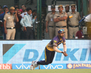 Umesh Yadav handed Chris Morris a reprieve after failing to check his momentum, Kolkata Knight Riders v Delhi Daredevils, IPL 2017, Delhi, April 17, 2017