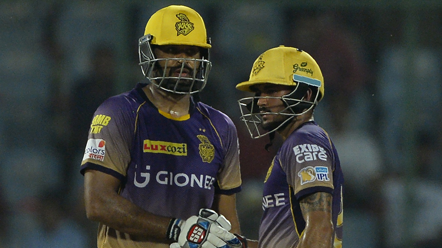 Yusuf Pathan and Manish Pandey steadied Kolkata Knight Riders chase after early loss of wickets