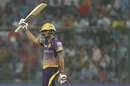 Manish Pandey's unbeaten 69 steered Kolkata Knight Riders home, Kolkata Knight Riders v Delhi Daredevils, IPL 2017, Delhi, April 17, 2017