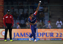 Zaheer Khan scalped the wickets of both the Kolkata Knight Riders openers, Kolkata Knight Riders v Delhi Daredevils, IPL 2017, Delhi, April 17, 2017