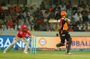 Naman Ojha was stumped off KC Cariappa, Sunrisers Hyderabad v Kings XI Punjab, IPL 2017, Hyderabad, April 17, 2017