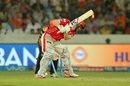 Eoin Morgan was cleaned up by Mohammad Nabi, Sunrisers Hyderabad v Kings XI Punjab, IPL 2017, Hyderabad, April 17, 2017