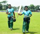 Al-Amin notched up his highest List-A score of 106, Prime Bank Cricket Club v Khelaghar Samaj Kallyan Samity, Dhaka Premier League 2017, Savar, April 18, 2017