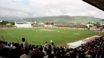 Sabina Park attracted a good crowd for the second day