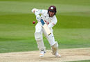 Zafar Ansari bats for Surrey, Surrey v Lancashire, Specsavers Championship Division One, Kia Oval, April 14-17, 2017