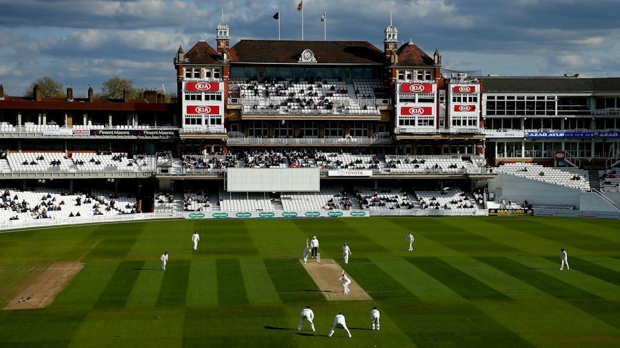 A shot of Kia Oval during a day's Championship cricket