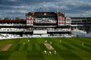 A shot of Kia Oval during a day's Championship cricket, Surrey v Lancashire, Specsavers Championship Division One, Kia Oval, April 14-17, 2017