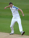 Ben Coad celebrates a wicket-laden start to the season, Warwickshire v Yorkshire, Specsavers Championship Division One, Edgbaston, April 14-17, 2017