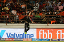 Mandeep Singh tries to snaffle a catch near the boundary rope, Royal Challengers Bangalore v Gujarat Lions, Rajkot, IPL 2017, April 18, 2017