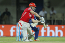 Shaun Marsh guides one to the off side, Mumbai Indians v Kings XI Punjab, IPL 2017, Indore, April 20, 2017