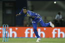 Krunal Pandya took out Wriddhiman Saha early in the innings, Mumbai Indians v Kings XI Punjab, IPL 2017, Indore, April 20, 2017