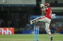 Glenn Maxwell clips one to the leg side, Mumbai Indians v Kings XI Punjab, IPL 2017, Indore, April 20, 2017