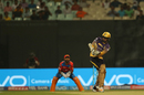 Sunil Narine flicks one square, Kolkata Knight Riders v Gujarat Lions, IPL 2017, Kolkata, April 21, 2017