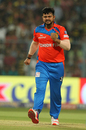 Suresh Raina reacts in the field, Kolkata Knight Riders v Gujarat Lions, IPL 2017, Kolkata, April 21, 2017