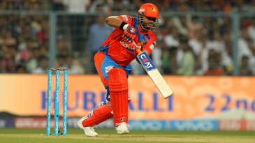 Suresh Raina sets off for a run