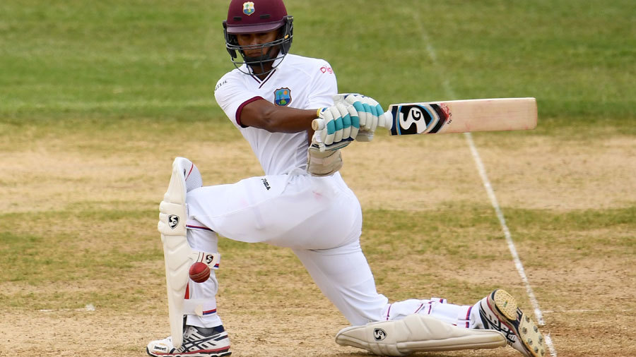 Powell falls short of ton as West Indies claim first innings lead
