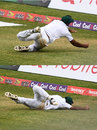 Wahab Riaz took a stunning catch to remove Roston Chase, West Indies v Pakistan, 1st Test, Jamaica, 1st day, April 21, 2017