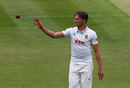 Aaron Beard eventually removed Nick Gubbins, Middlesex v Essex, County Championship, Division One, Lord's, 1st day