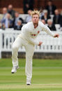 Simon Harmer in action, Middlesex v Essex, County Championship, Division One, Lord's, 1st day