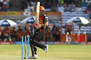 David Warner was bowled trying to reverse-pull, Rising Pune Supergiant v Sunrisers Hyderabad, IPL 2017, Pune, April 22, 2017