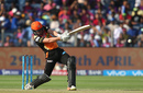 Moises Henriques hits down the ground, Rising Pune Supergiant v Sunrisers Hyderabad, IPL 2017, Pune, April 22, 2017