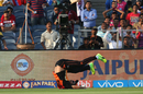 Bipul Sharma drops Rahul Tripathi, Rising Pune Supergiant v Sunrisers Hyderabad, IPL 2017, Pune, April 22, 2017