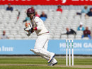 Jack Leach made his maiden half-century, Lancashire v Somerset, County Championship, Division One, Old Trafford, 2nd day, April 22, 2017