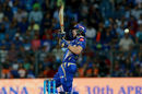 Jos Buttler was reprieved early by Rishabh Pant while attempting a scoop, Mumbai Indians v Delhi Daredevils, IPL, Mumbai, April 22, 2017