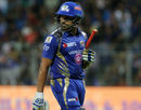 Rohit Sharma's woes against legspinners continued this season, Mumbai Indians v Delhi Daredevils, IPL, Mumbai, April 22, 2017