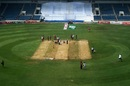 The first session was washed out due to a wet pitch, West Indies v Pakistan, 1st Test, Jamaica, 2nd day, April 22, 2017