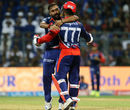 Amit Mishra had the scalps of Rohit and Krunal Pandya, Mumbai Indians v Delhi Daredevils, IPL, Mumbai, April 22, 2017