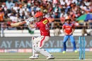 Shaun Marsh cuts the ball square, Gujarat Lions v Kings XI Punjab, IPL 2017, Rajkot, April 23, 2017