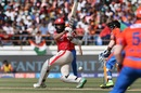Hashim Amla punishes a loose delivery, Gujarat Lions v Kings XI Punjab, IPL 2017, Rajkot, April 23, 2017