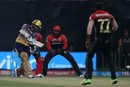 Sunil Narine made another brisk start, Kolkata Knight Riders v Royal Challengers Bangalore, IPL 2017, Kolkata, April 23, 2017