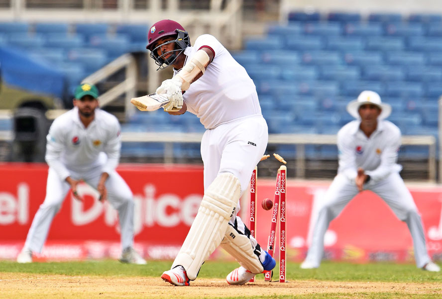Pakistan lose openers in reply to West Indies' 286