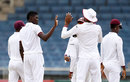 Alzarri Joseph picked up West Indies' first wicket, West Indies v Pakistan, 1st Test, Jamaica, 3rd day, April 23, 2017