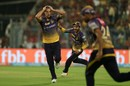 Nathan Coulter-Nile's anxiety was calmed by Robin Uthappa's catch, Kolkata Knight Riders v Royal Challengers Bangalore, IPL 2017, Kolkata, April 23, 2017