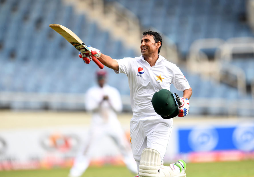 Younis Khan becomes first Pakistani batsman to cross the 10,000 Test runs milestone