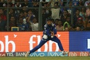 Harbhajan Singh put down Steven Smith at deep midwicket, Mumbai Indians v Rising Pune Supergiant, IPL 2017, Mumbai, April 24, 2017